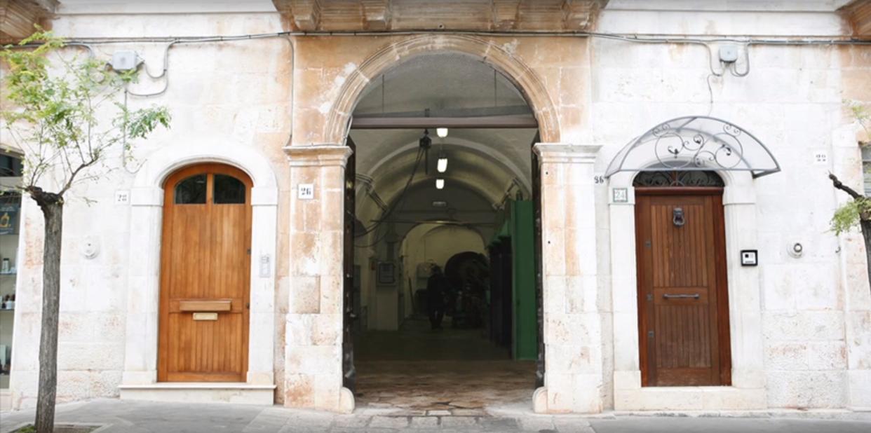 "The Olive mill ""Vecchio Frantoio Pace, since 1910 - the company's headquarters"