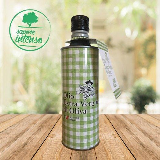 Olio EVO sapore intenso 0.5 lt - Bottiglia in alluminio - Vecchio Frantoio Pace