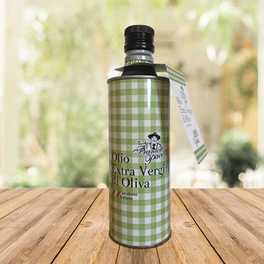 Olio EVO fruttato intenso 0.5 lt - Bottiglia in alluminio - Vecchio Frantoio Pace