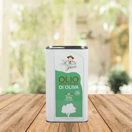 Intense Fruity Extra Virgin Olive Oil 1 Litres tin can - Vecchio Frantoio Pace