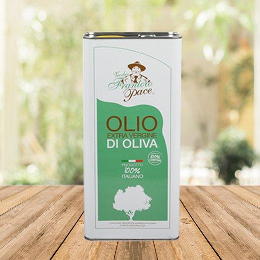 Olio EVO fruttato intenso 5 lt - Latta - Vecchio Frantoio Pace