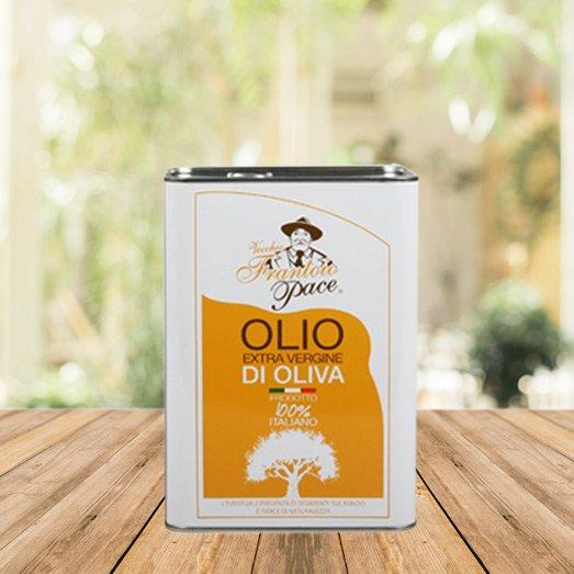 Olio EVO sapore leggero 3 lt - Latta - Frantoio Pace