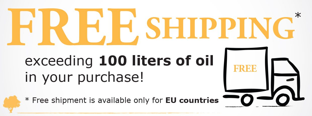 Vecchio Frantoio Pace - Free Shipping all over EU countries (over 100 litres of oil)