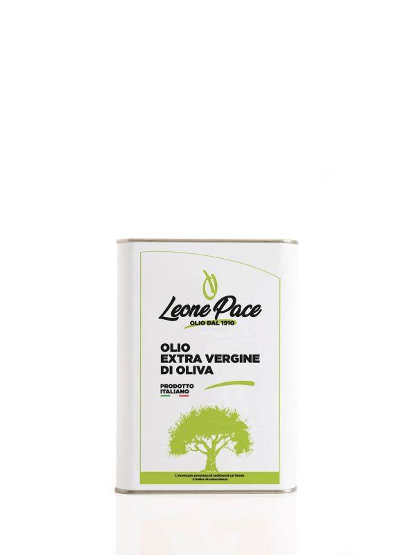 Olio EVO sapore leggero 3 lt - Latta - Frantoio Leone Pace - Olio dal 1910 - Frantoio Pace